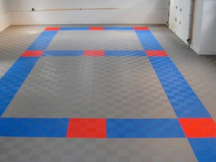 ModuTile Perforated Car Garage Flooring