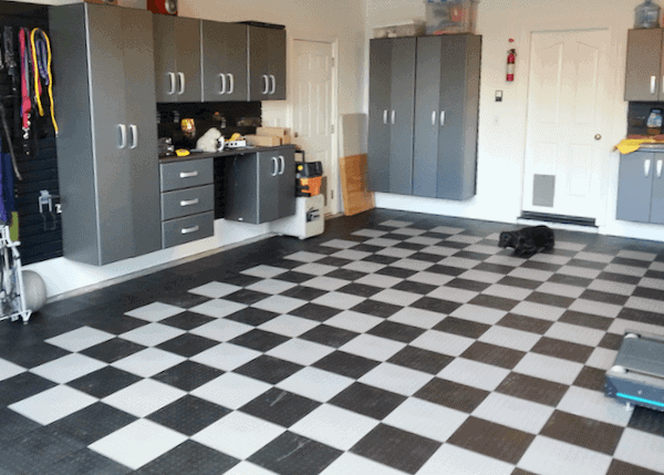 Interlocking Garage Floor Tiles ModuTile