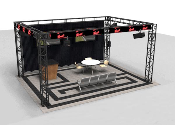 Trade Show Flooring - ModuTile