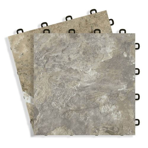 Interlocking Basement Floor Tiles Diy Flooring Made In Usa