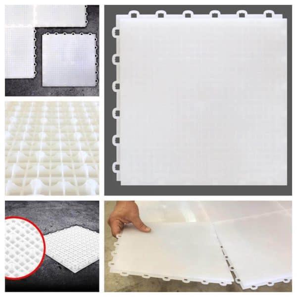 Interlocking Basement Floor Tiles - DIY Flooring - Made in