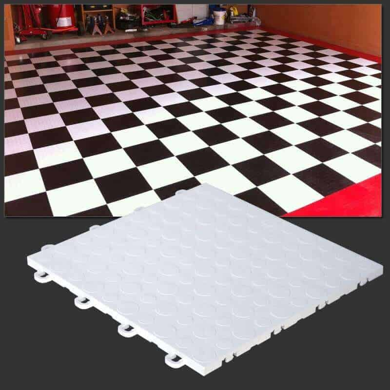 Coin Top Garage Floor Tiles - T0US41
