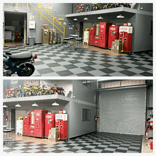 Flexible PVC Floor Tiles - Garage Flooring