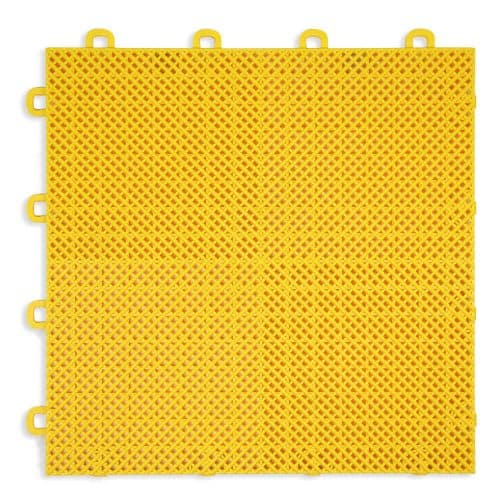 Yellow - Perforated Modular Floor Tile