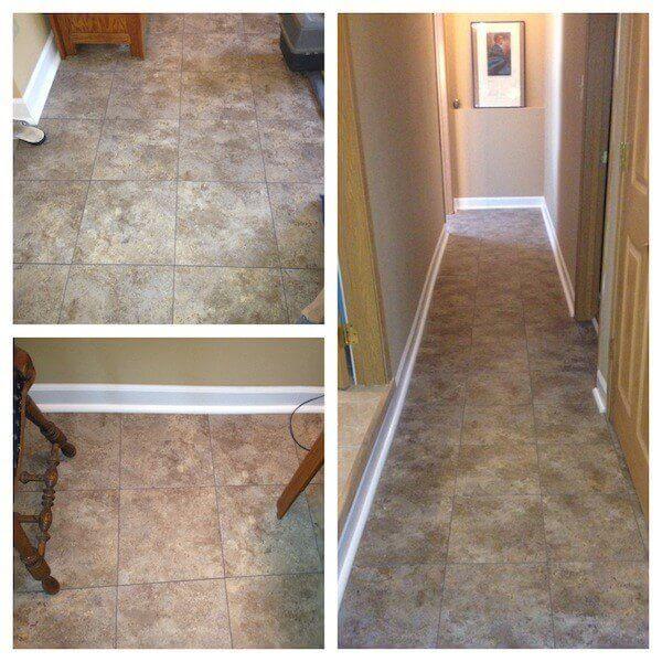 Sienna Sandstone Basement Flooring