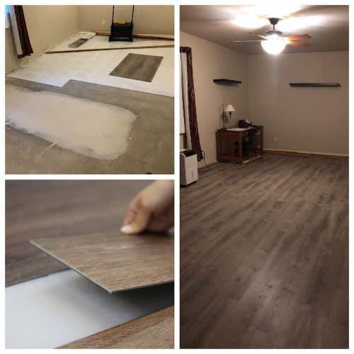 Subfloor Underlayment Basement Flooring