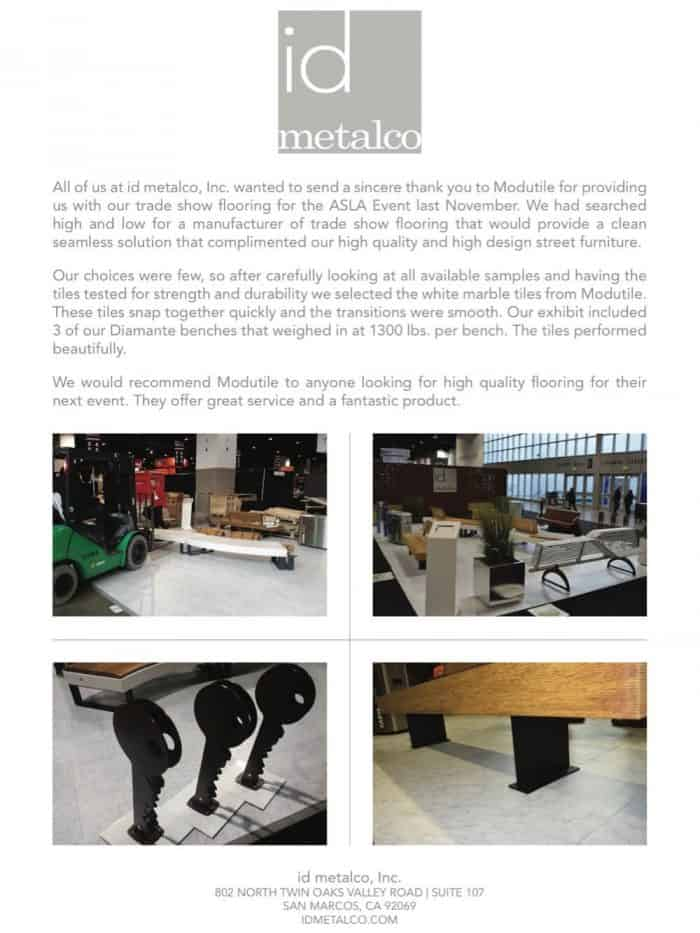 Trade Show Event Flooring ModuTile