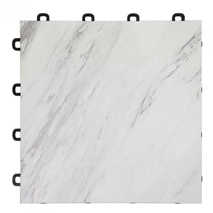 Marble Interlocking Floor Tiles for Basement or Trade Show