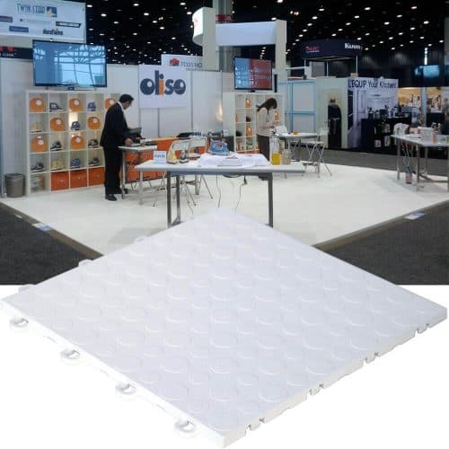 Coin Top Interlocking Trade Show Tiles - ModuTile