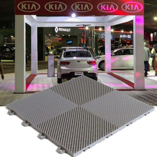 Event Flooring Perforated Trade Show Tile