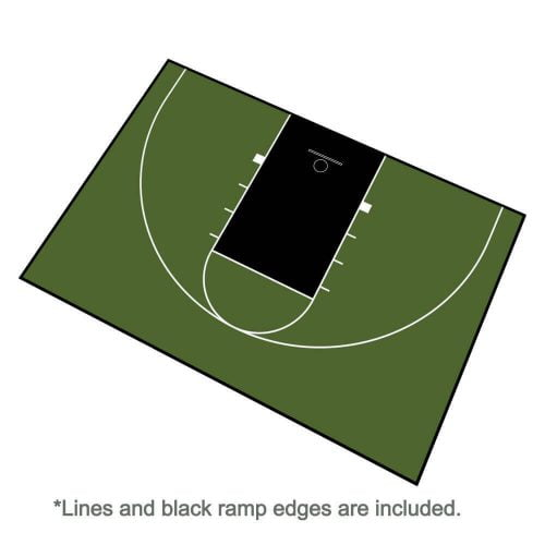 Indoor/Outdoor Basketball Court Kit