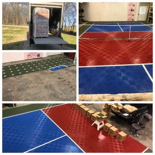 Indoor Pickleball Court Flooring