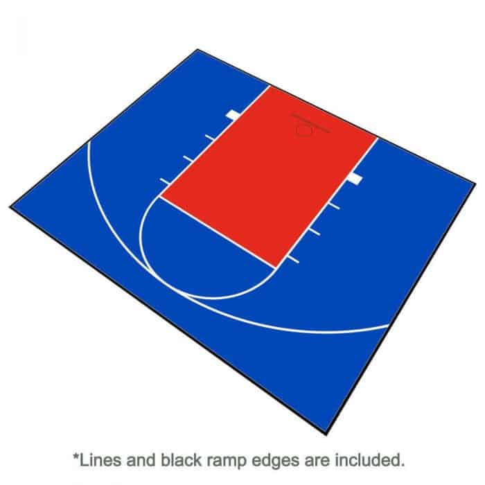 Outdoor Basketball Court Floor 30x25