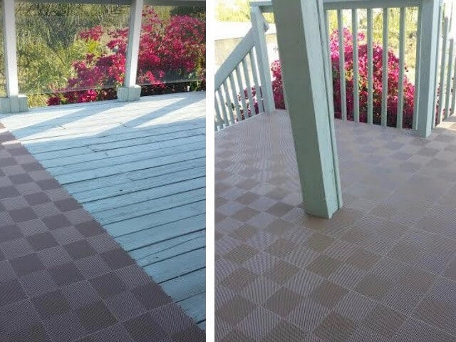 deck and patio floor tiles ModuTile