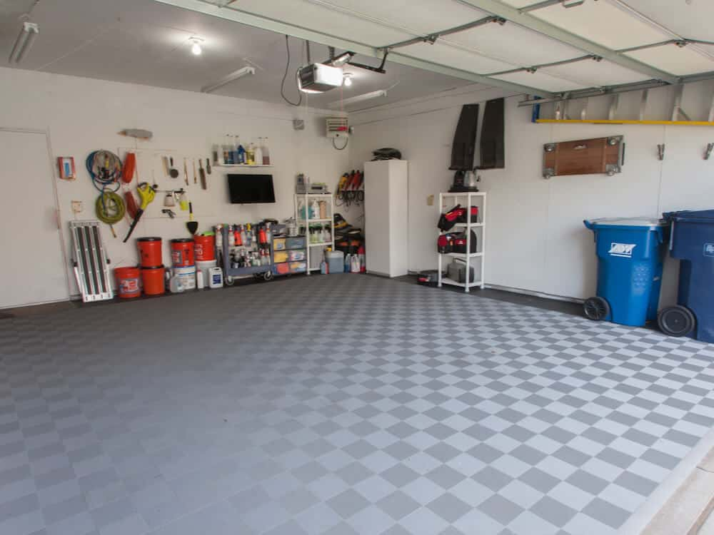 Perforated Garage Floor Tiles Diy