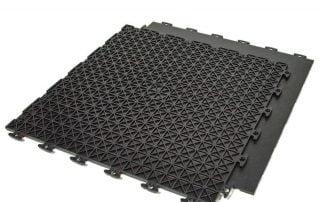 ModuTile PVC Garage Floor Tile - Black