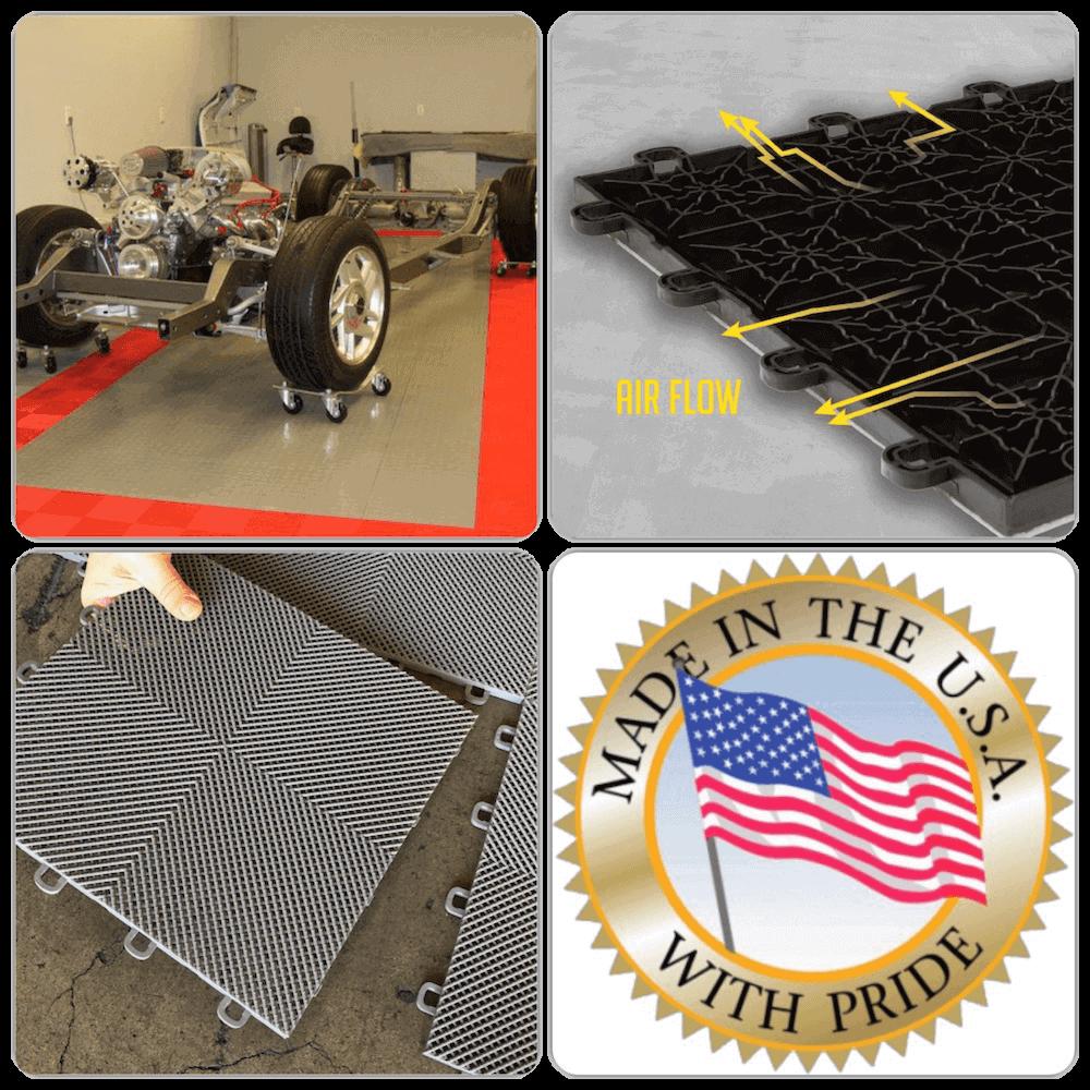 ModuTile Garage Floor Tile Design