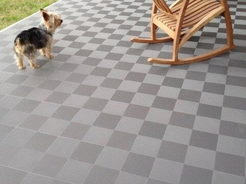 deck and patio floor tiles