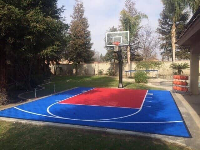 ModuTile Backyard Basketball Court Kit 20x24