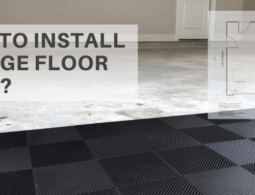 How to Install Interlocking Garage Floor Tiles