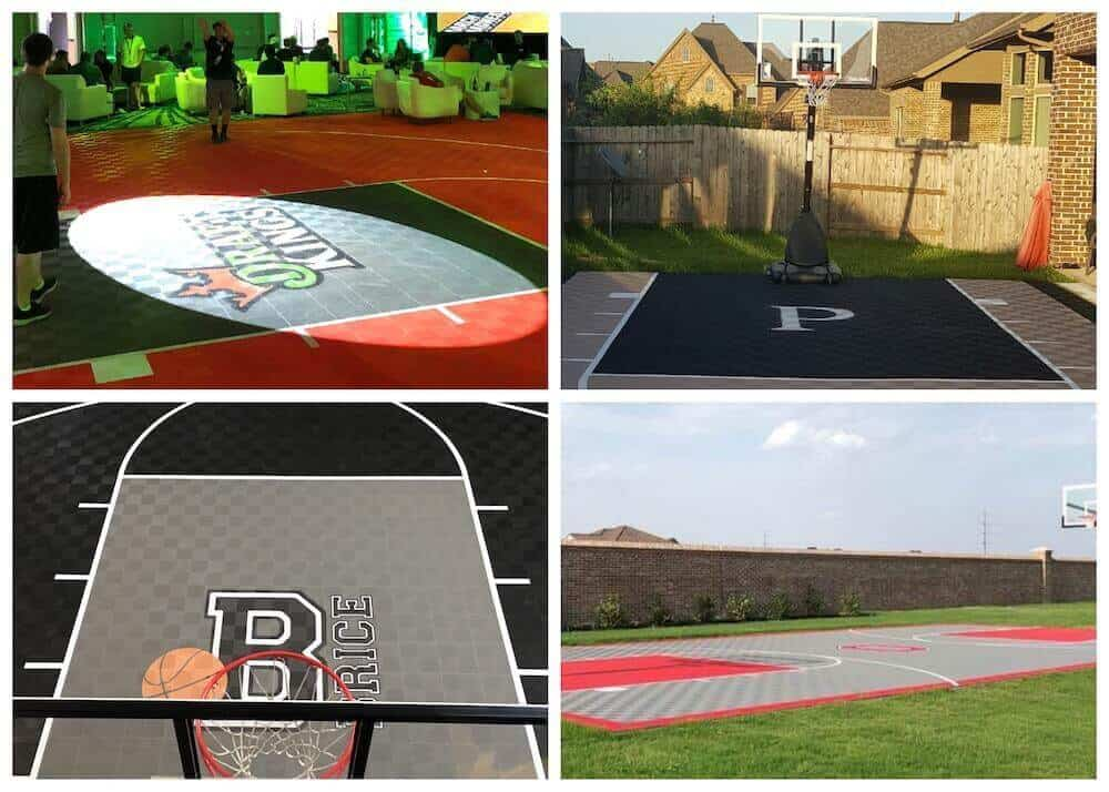 Basketball Court Floor Graphics