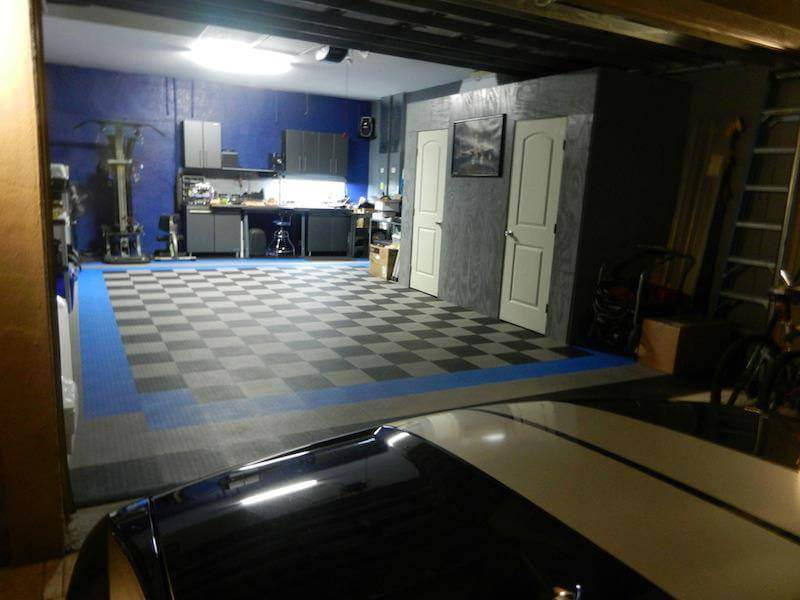 Florida Garage Floor Tile - Pictures - North Port FL 34286