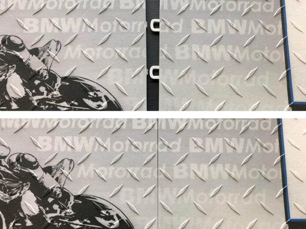Interlocking Floor Showroom Display Graphics