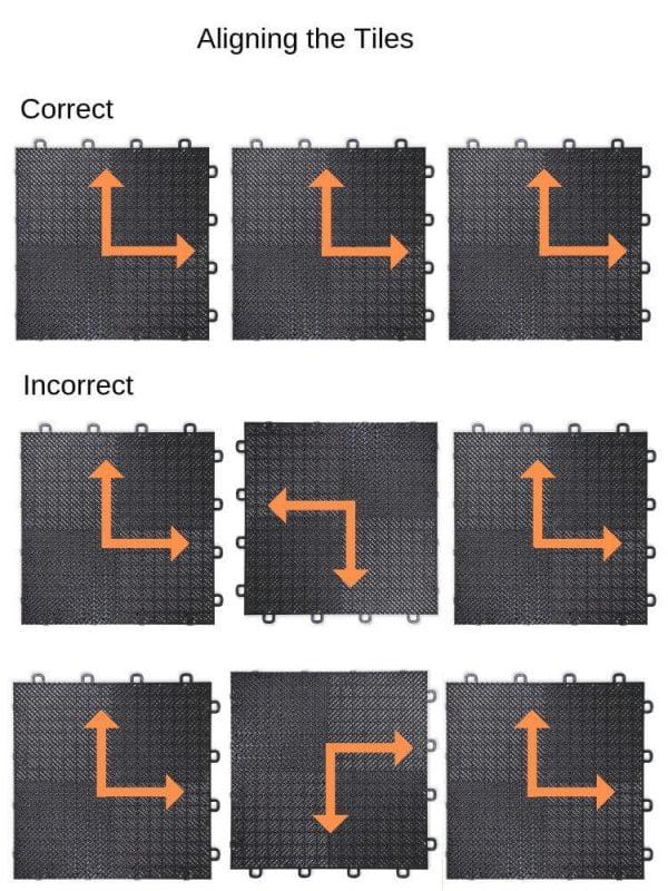 Interlocking Floor Tile Installation - Assembly