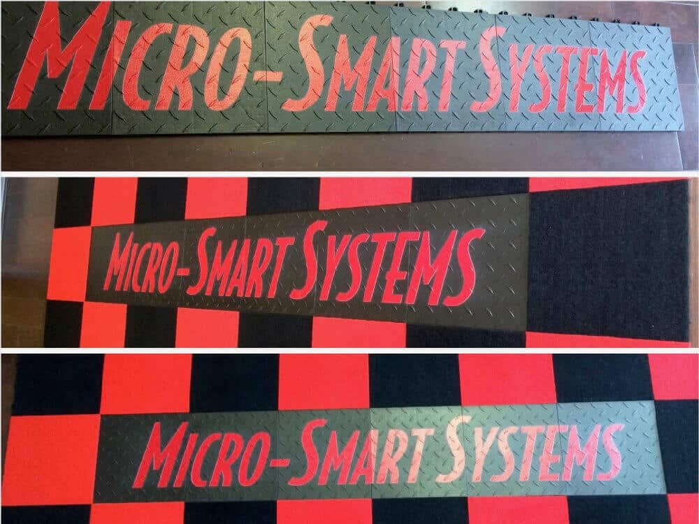Micro Smart Systems Event Flooring Graphics