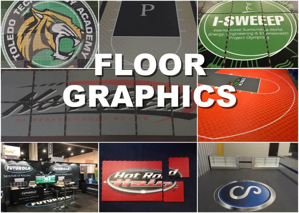 ModuTile Floor Graphics Picture Gallery