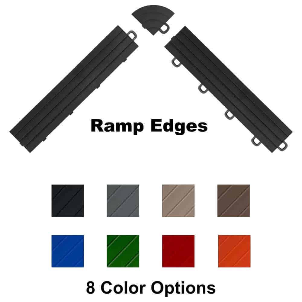 Ramp Edging for Interlocking Floor Tiles - square banner