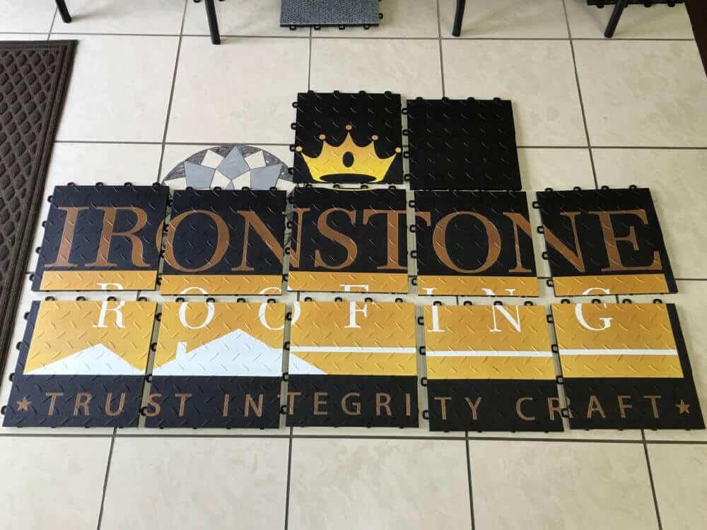 Trade Show Floor Display Graphics - Ironstone