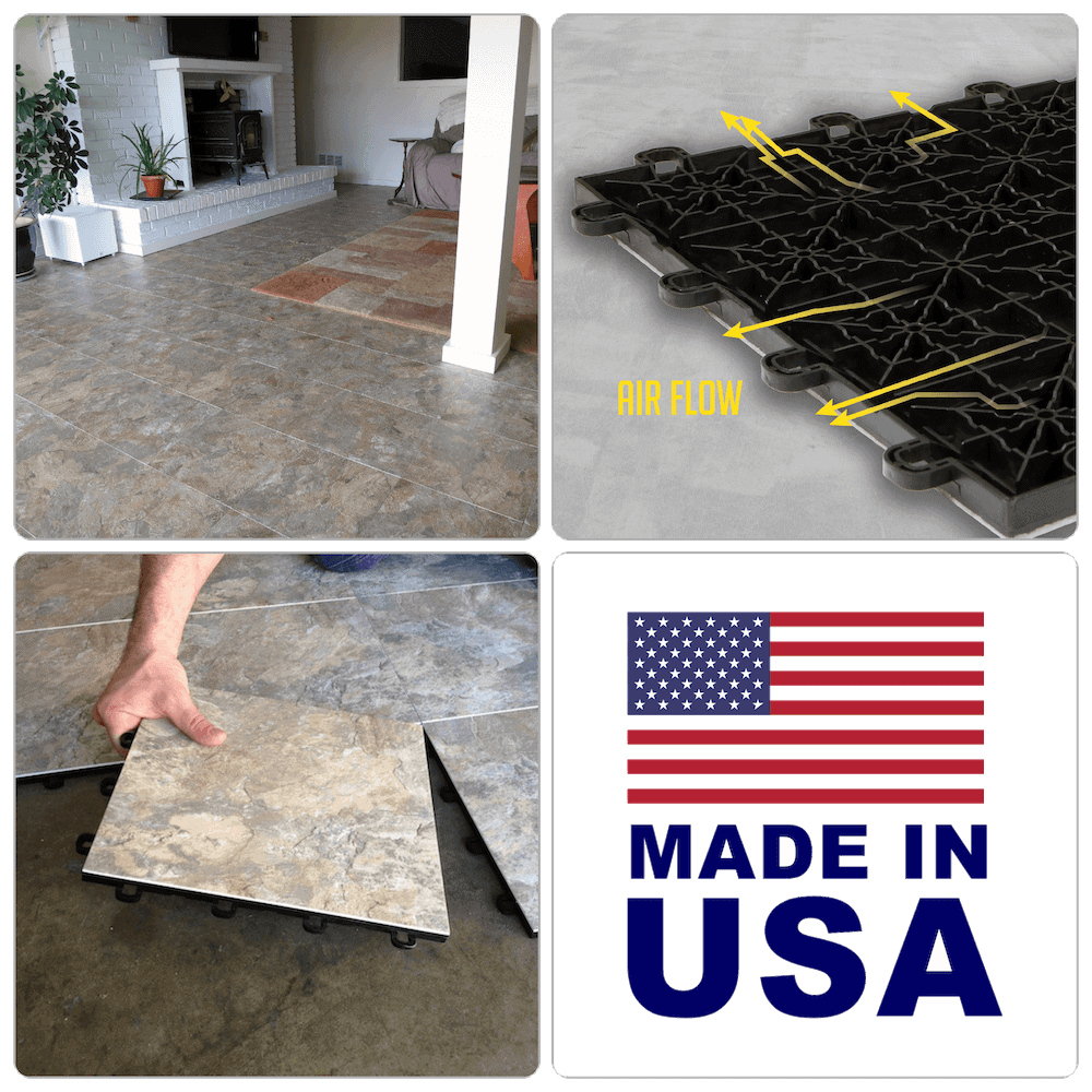 Basement Floor Tile Benefits- Features