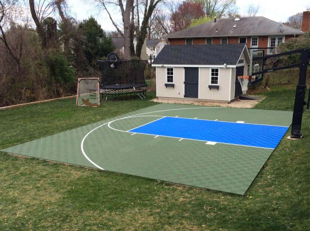 Resurface Outdoor Basketball Court Floor