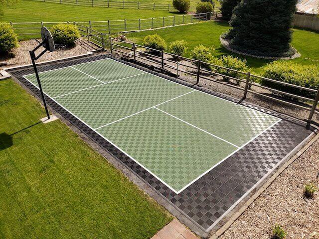 ModuTile Outdoor Pickleball Court Floor Tiles