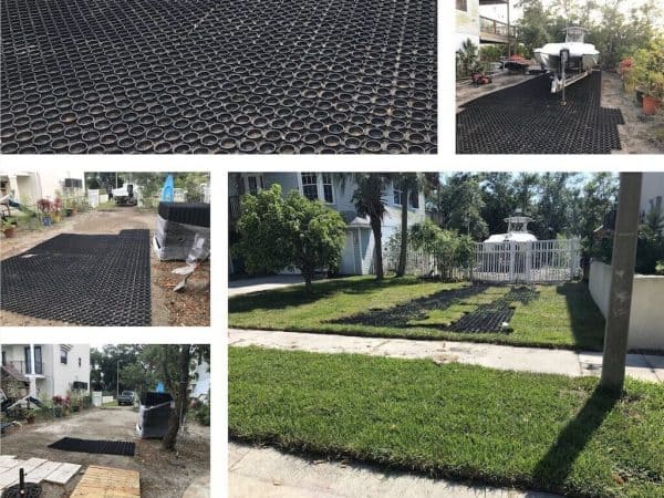 Permeable Driveway Grass Pavers